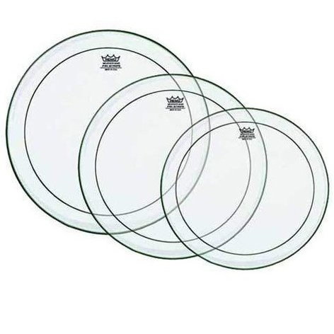 """Remo PP-0920-PS  Clear Pinstripe Drumhead Pack: 10"""",12"""",14"""" PP-0920-PS"""