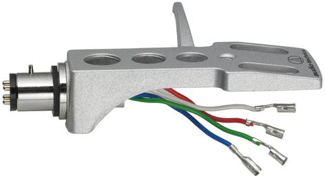 """Audio-Technica AT-HS1  1/2"""" Mount Universal Headshell for 4 Pin Turntable Cartridges AT-HS1"""
