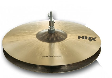 "Sabian 11450XN Pair of 14"" HHX Fusion Hi-Hats 11450XN"