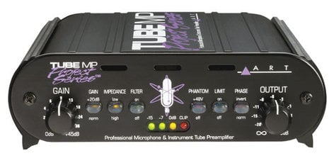ART Tube MP Project Series Tube Microphone Preamp TUBE-MP-PROJECT