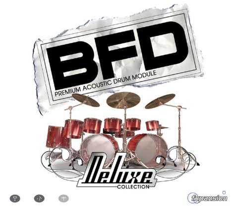 FXpansion BFD-DELUXE Expansion Drum Sound Library for BFD (VIRTUAL) BFD-DELUXE