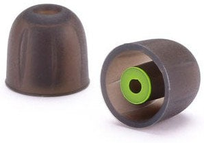 Westone 62820  200 Count STAR Silicone Eartips in Black / Green 62820