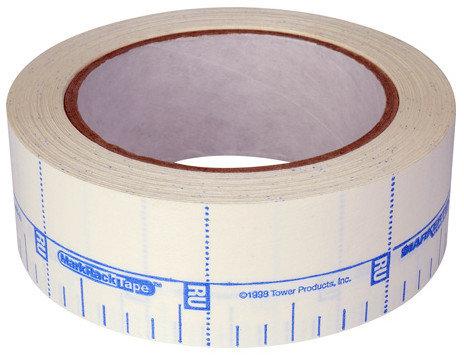 "TecNec MRT-30 30 Yard Roll of 1.5"" RackTape Equipment Rack Layout Tape MRT-30"
