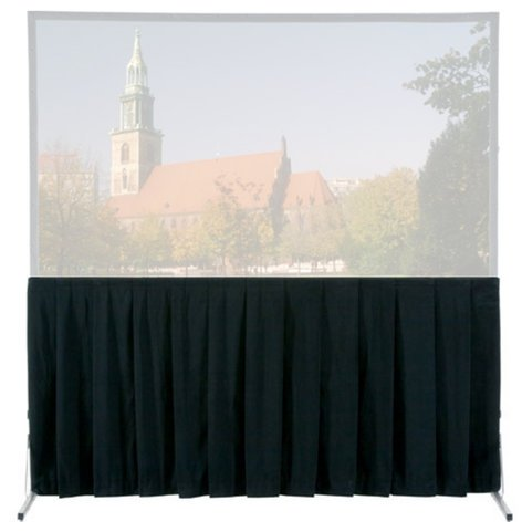 Da-Lite 89263  Fast-Fold Skirts for Deluxe - Heavy Duty Deluxe and Truss Screens 89263