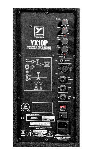 Yorkville YX10P  YX Series 10 in. 170 Watt Powered Loudspeaker YX10P