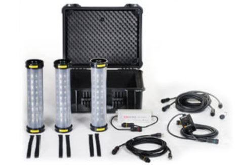Pelican Cases 9500-PELICAN Shelter Lighting System in Black 9500-PELICAN