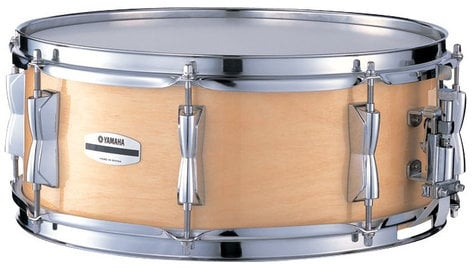 """Yamaha SBS-1455-NW 5.5"""" x 14"""" Stage Custom Birch Snare Drum in Natural Birch SBS-1455-NW"""