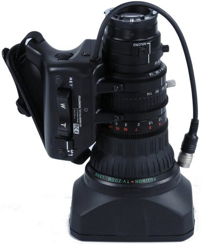 "Fujinon Inc S17X6.6BRM [RESTOCK ITEM] Standard Definition ENG/EFP Lens with Pigtail Connector for 1/2"" Chip Format Cameras S17X6.6BRM-RST-01"