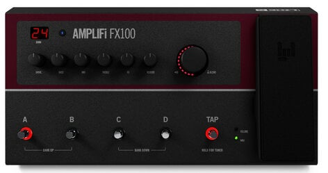 Line 6 AMPLIFi FX100 Guitar MultiFX Processor with Bluetooth and iOS/Android Connectivity AMPLIFI-FX100