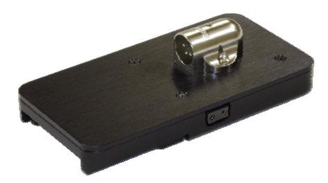 IDX Technology NBV-XLR  Endura V-Mount Plate with 4-Pin XLR Connector NBV-XLR