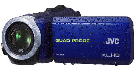 JVC GZ-R10A Quad Proof Full HD Camcorder in Blue GZR10AUS