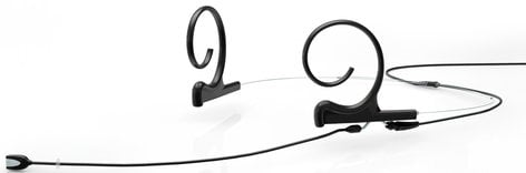 DPA Microphones FIDC10-2 d:fine Brown Dual-Ear Cardioid Headset Microphone for Shure Wireless Systems with Long Boom Arm FIDC10-2