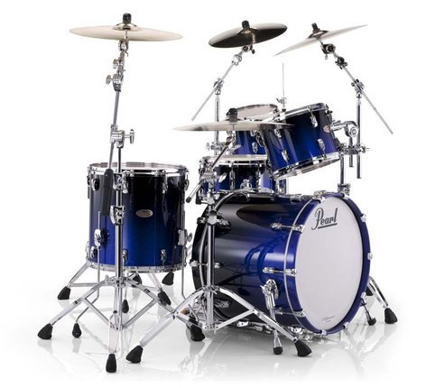 Pearl Drums RF924XSP/376 4-Piece Reference Shell Pack in Ultra Blue Fade RF924XSP/376