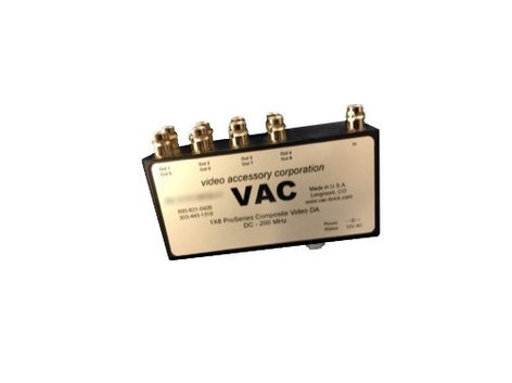 Video Accessory Corp 11-114-108  1 x 8 Composite Video Distribution Amplifier 11-114-108