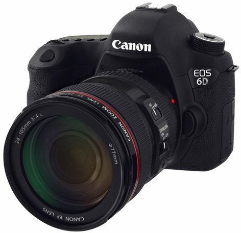 Canon EOS 6D EF 24-105MM IS USM Kit 20.2 MP Digital SLR Camera Kit with EF 24-105MM IS USM Lens EOS-6D-EF24-105MM-IS