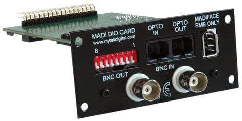 Mytek Digital MADI DIO CARD Digital Audio Converter Card for Mytek 8X192ADDA MADI-DIO-CARD