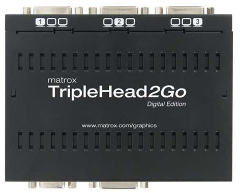 Matrox TripleHead2Go Digital Edition Graphics Expansion Module TRIP2GO-D3D-IF