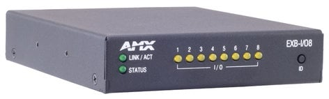 AMX EXB-I/O8 ICSLan Input/Output Interface - 8 Channels FG2100-21