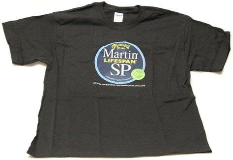 Martin Guitar 18CU0063L Martin Lifespan SP T-Shirt in Size Large 18CU0063L