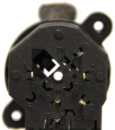 "Neutrik NCJ5FI-V Combo 1/4"" Mono / 3 Pin XLR Female Receptacle with Stereo Switching Jack and Vertical PCB Mount NCJ5FI-V"