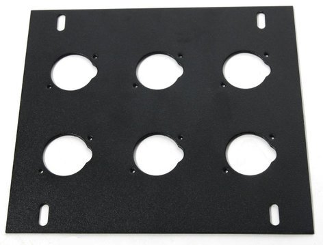 Elite Core Audio FB-PLATE6  Unloaded Plate for FB Series Floor Boxes FB-PLATE6