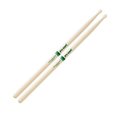 Pro-Mark TXR2BN 2B The Natural Hickory Drumsticks with Nylon Tip TXR2BN