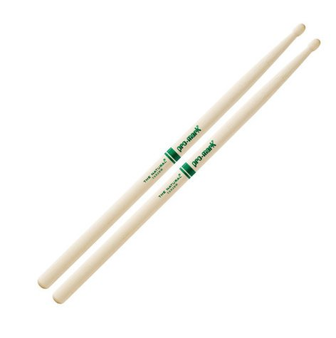 Pro-Mark TXR2BW 2B The Natural Hickory Drumstick with Wooden Tip TXR2BW