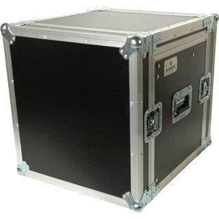 Grundorf Corp PRO-TR1418C  Pro Series Top Load Rack Case with Casters, 10RU Ratchet Top, 14RU Bottom PRO-TR1418C