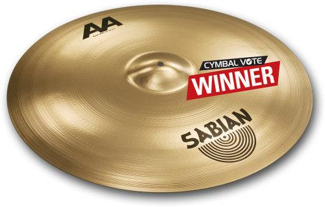 """Sabian 224BCB 24"""" AA Bash Ride Cymbal 224BCB"""