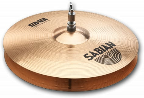 "Sabian 41403 Pair of 14"" B8 Rock Hi-Hats 41403-SABIAN"