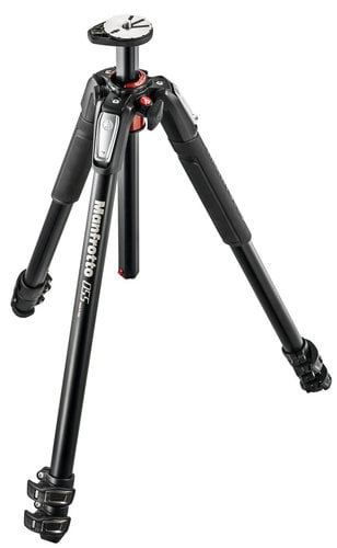 Manfrotto MT055XPRO3  3 Section Aluminum Tripod with Horizontal Column MT055XPRO3