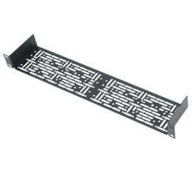 """Middle Atlantic Products UMS1-3.5  1 RU 3.5"""" D Universal Rack Shelf with 3 Partial Blank Panels and Hardware UMS1-3.5"""