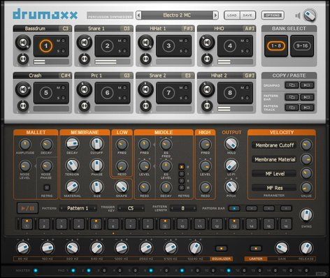 Image Line Drumaxx Percussion Modeling Software Virtual Instrument IL-DRUMAXX