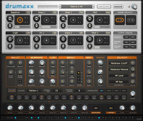 Image Line Drumaxx Percussion Modeling Software Virtual Instrument IL-DRUMAXX