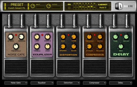 Image Line Hardcore Guitar FX Software Bundle IL-HARDCORE