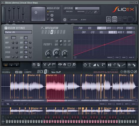 Image Line Slicex Slicing Software Virtual Instrument IL-SLICEX