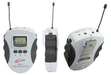 Califone International WS-T  Tour Guide/Assistive Listening Bodypack Transmitter WS-T