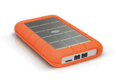 LaCie 9000448  2TB Rugged Triple USB 3.0 Hard Drive 9000448