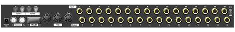 Ferrofish A16 MK-II 16 Channel AD/DA Converter with MADI and ADAT I/O A16-MKII