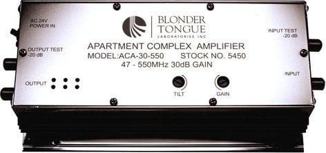 Blonder-Tongue ACA-30-550  550 Hz Apartment Complex RF Amplifier ACA-30-550