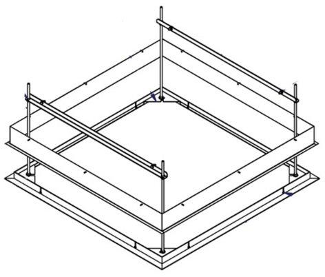 Draper Shade and Screen 300264 SLX Ceiling Trim Kit 300264