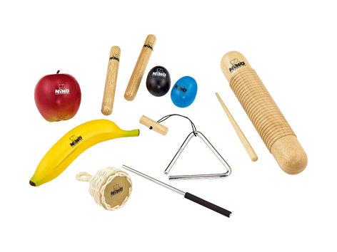 NINO Percussion NINOSET4 9-Piece Kid's Percussion Kit NINOSET4