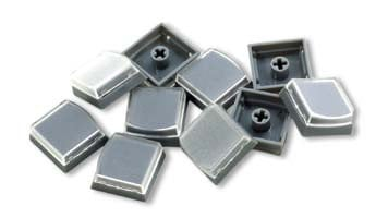 PI Engineering, Inc. XK-A-500-R  10-Pack of Keycaps in Gray XK-A-500-R