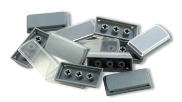 PI Engineering, Inc. XK-A-502-R  10-Pack of Tall Keycaps in Gray XK-A-502-R