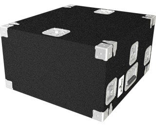 Grundorf Corp TLR-02DR  Top Load Carpeted Rack Case, 10 Space Slant Top, 2 Space Bottom TLR-02DR