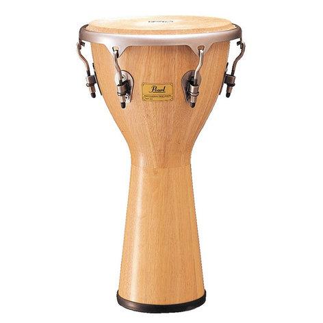 """Pearl Drums PJW-340511  12.5x24"""" Thai Oak Djembe in Natural Finish PJW-340511"""