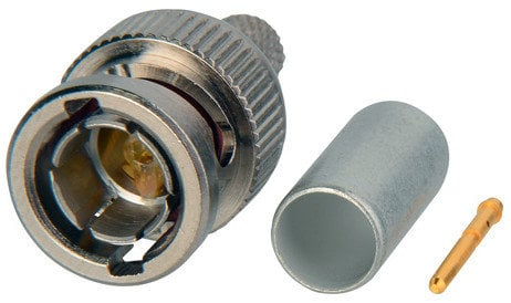 ADC BNC-8-N Connector, BNC Plug, Straight, 75 Ohm, for 1694A, VSD2001, VSD2001TS, 9058 cable type BNC-8-N