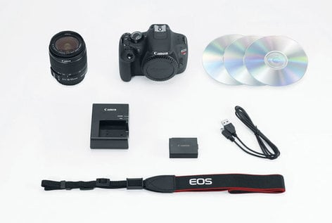 Canon EOS Rebel T5 18-55 IS II Kit DSLR Camera with 18-55 IS II Lens EOS-RBL-T5-EFS-18-55