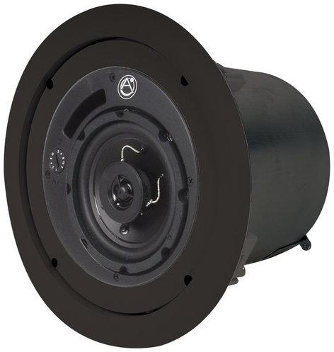 "Atlas Sound FAP42T-B 4"" Coaxial Speaker System with 70/100V 16 Watt Transformer FAP42TB"