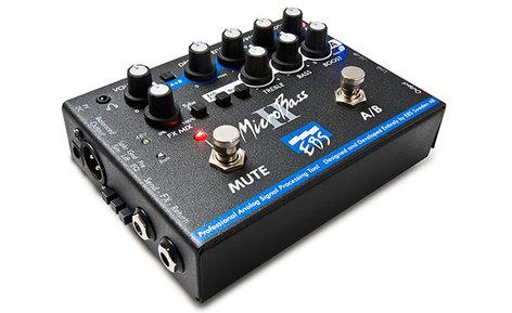 EBS Micro Bass II 2-Ch Preamp Pedal EBS-MB